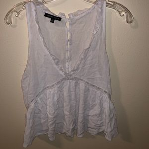 Kendall & Kylie Button up back tank